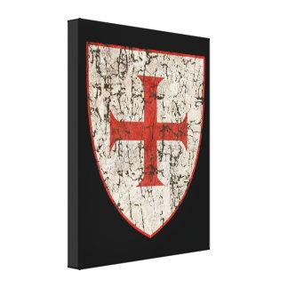 Templar kor som är bekymrad canvastryck