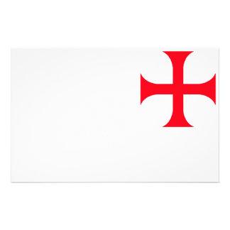 Templar Röda kor Brevpapper