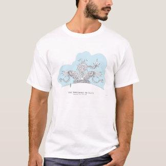 Temporal horisonttillbehörT-tröja Tee