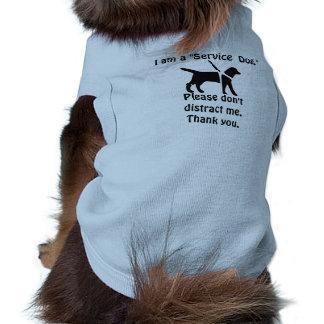 Tendera den varma tjänste- hunden, gulligt husdjurströja