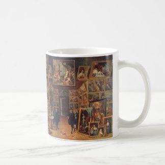 Teniers det mer ung - Erzherzog Leopold Wilhelm Kaffemugg