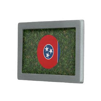Tennessee flagga på gräs