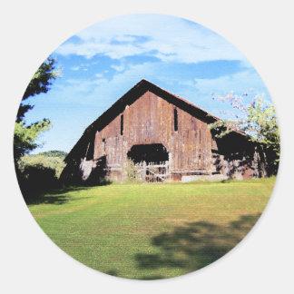 Tennessee ladugård runt klistermärke