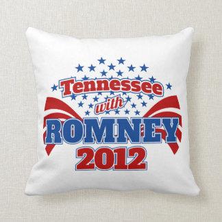 Tennessee med Romney 2012 Kudde