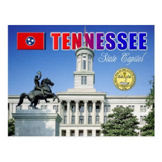 Tennessee statlig huvudstad i Nashville Vykort