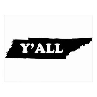 Tennessee Yall Vykort