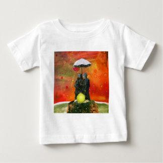 Tennis i en fontän tshirts