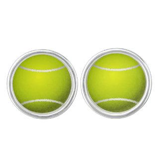 Tennis klumpa ihop sig sportmönster manschettknappar