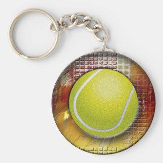 Tennis Rund Nyckelring
