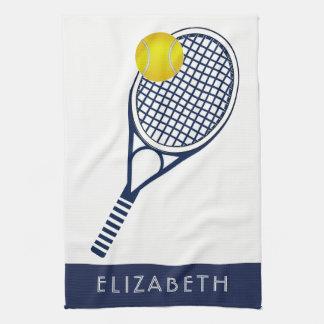 Tennispersonlignamn eller Monogram Kökshandduk
