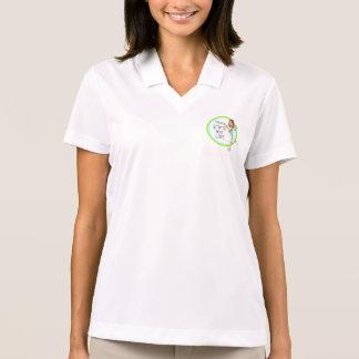 Tennisstarter med kärlekkvinna skjortan för Polo Polotröja