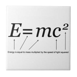 Teori för E=MC2 Einsteins av relativitet Keramiska Plattor