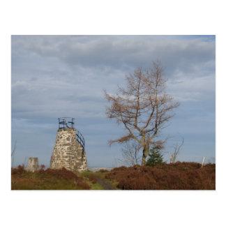 Tepi torn Aberdeen Skottland Vykort