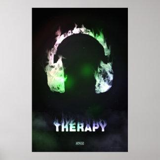 Terapi röker & musik poster