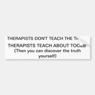 terapi undervisar om verktyg bildekal