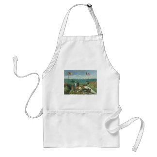 Terrass på sjösidan vid Claude Monet Förkläde