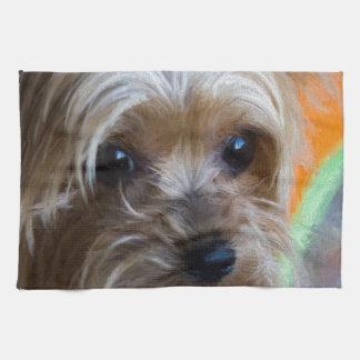 Terrier för dam Yorkshire Kökshandduk