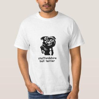 Terrier för T-tröjaStaffordshire tjur Tee Shirt