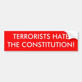 TERRORISTER HATAR KONSTITUTIONEN! BILDEKAL