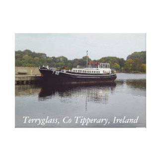 Terryglass Co Tipperary, Irland kanfas Canvastryck