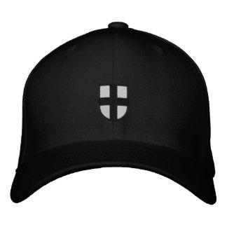 Teutonic riddare broderade hatten broderad keps