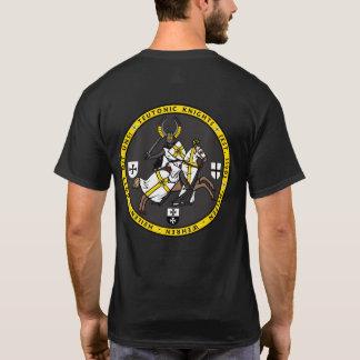 Teutonic riddareuppladdning förseglar skjortan t-shirts
