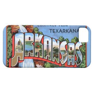 Texarkana Arkansas stora brevhälsningar Barely There iPhone 5 Fodral