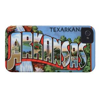 Texarkana Arkansas stora brevhälsningar Case-Mate iPhone 4 Skal