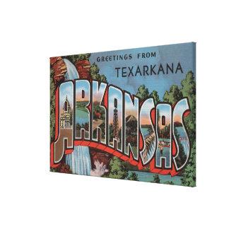 Texarkana Arkansas (vattenfallplatsen) Canvastryck