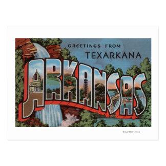 Texarkana Arkansas (vattenfallplatsen) Vykort