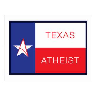 Texas ateist vykort