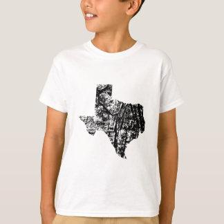 Texas bedrövade ungeskjortan t shirt