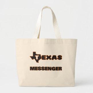 Texas budbärare jumbo tygkasse