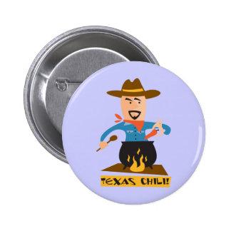 Texas Chili Standard Knapp Rund 5.7 Cm