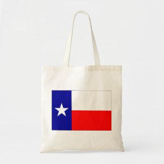 Texas flagga budget tygkasse