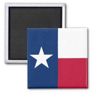 Texas flagga magnet