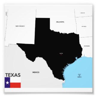texas formar den statliga politiska kartan flagga  fotografi