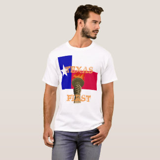 Texas första skjorta tee shirt