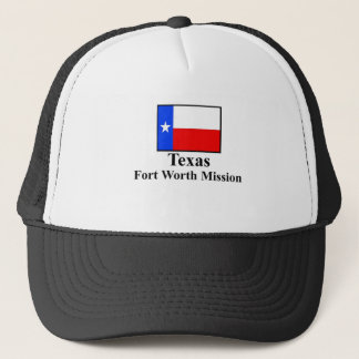 Texas Fort Worth beskickninghatt Truckerkeps