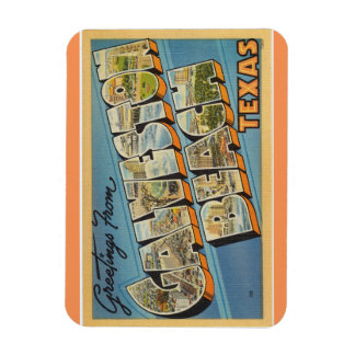 Texas Galveston strandmagnet Magnet