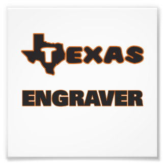 Texas gravör fototryck
