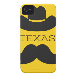 Texas i gult Case-Mate iPhone 4 skydd