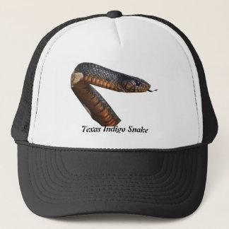 Texas indigoblå orm truckerkeps