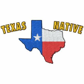 Texas inföding broderad skjorta broderad polotröja