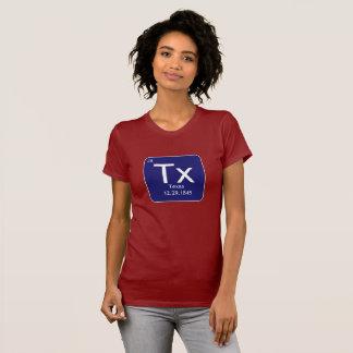 Texas inslagkvinna skjorta för T Tee