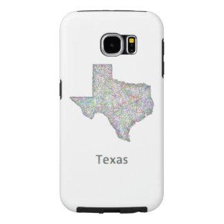 Texas karta samsung galaxy s6 fodral