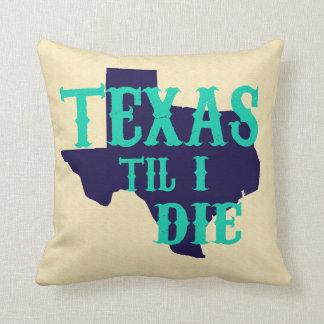 Texas kassalåda som jag dör kudder kudde