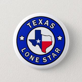 Texas knäppas den Lone stjärnan Standard Knapp Rund 5.7 Cm