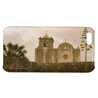 Texas Kyrka-Goliad-Vintage/sepia iPhone 5C Skal