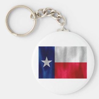 Texas Lonestar flagga i Digital olja Rund Nyckelring